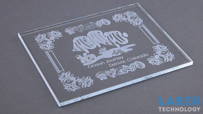Лазерная гравировка стекла на заказ