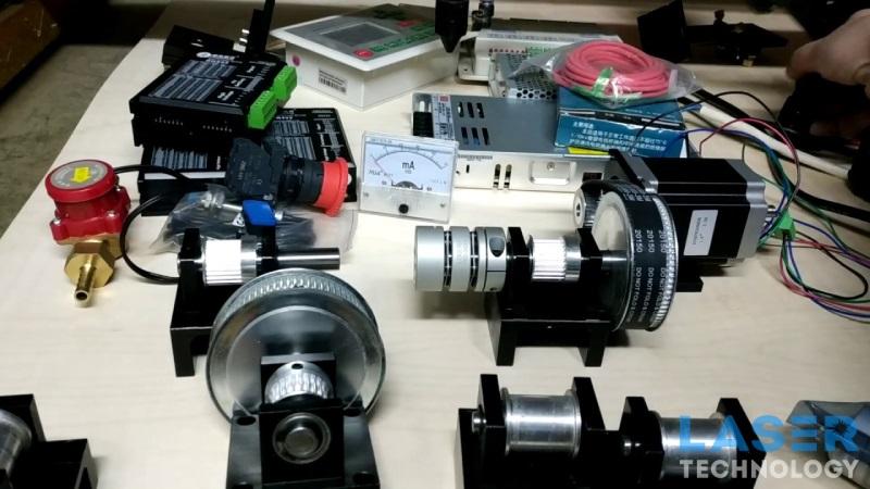 Настройка лазерного станка с ЧПУ