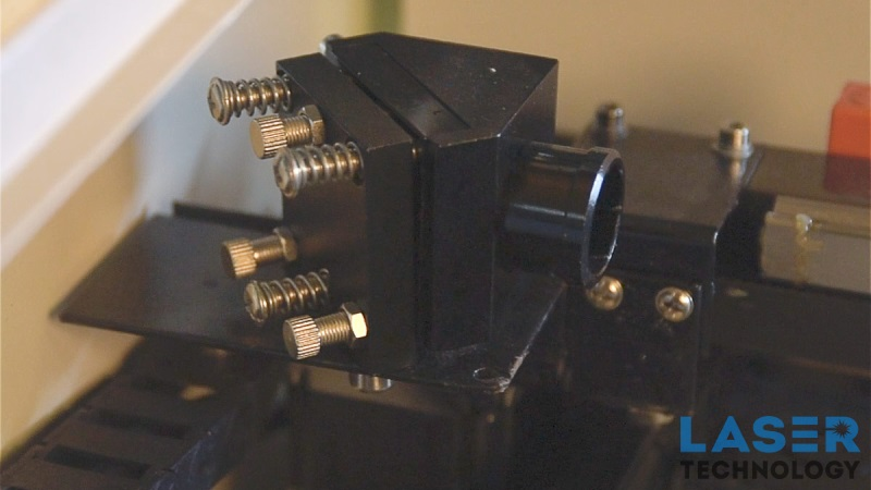 Настройка оптической системы лазерного станка