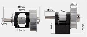 Модуль LC оси Y с редукцией 3:1(вал 12 мм) ML