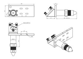 Лазерная головка JN 50.8/101.6 мм