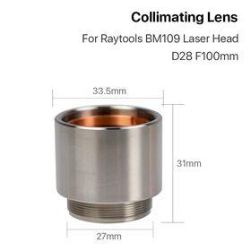 Комплект коллиматорных линз Raytools BM109 (D28/F100)